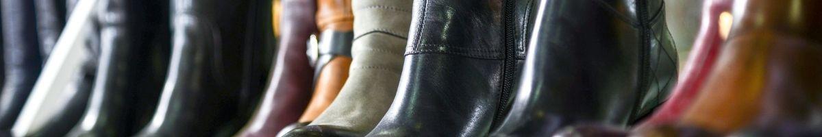 Модные сапоги из новой коллекции.